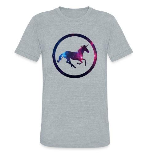 Believe Unicorn Universe 1 - Unisex Tri-Blend T-Shirt