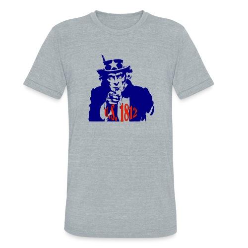 uncle-sam-1812 - Unisex Tri-Blend T-Shirt