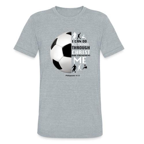soccer - Unisex Tri-Blend T-Shirt