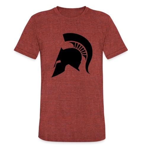 Spartan helmet - Unisex Tri-Blend T-Shirt