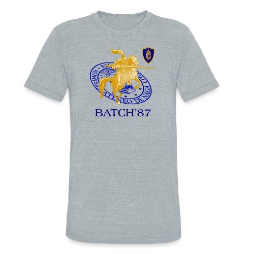 Ateneo Batch 87 - Unisex Tri-Blend T-Shirt