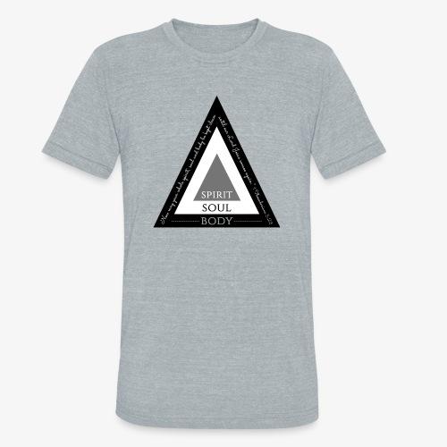 Spirit Soul Body - Unisex Tri-Blend T-Shirt