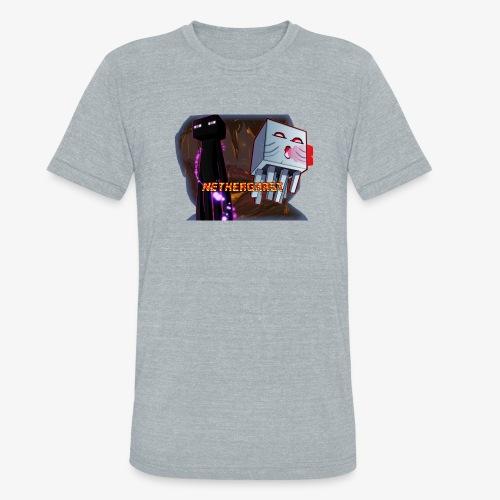 NetherGhast Mascot - Unisex Tri-Blend T-Shirt