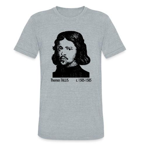 Thomas Tallis Portrait - Unisex Tri-Blend T-Shirt