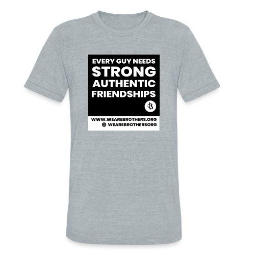 Brothers T-Shirt - Unisex Tri-Blend T-Shirt