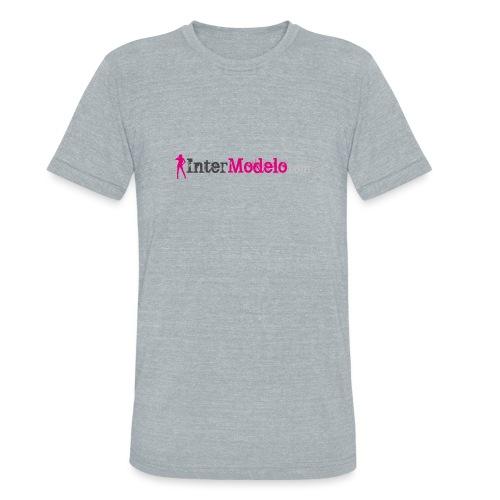 Intermodelo Color Logo - Unisex Tri-Blend T-Shirt
