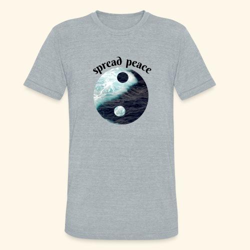 spread peace - Unisex Tri-Blend T-Shirt