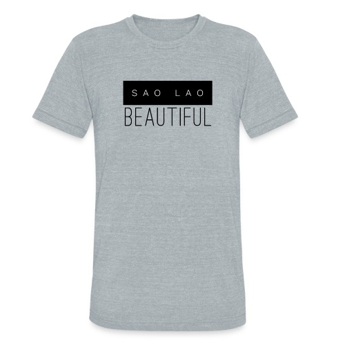 Sao Lao Beautiful - Unisex Tri-Blend T-Shirt