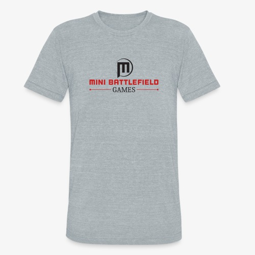 Mini Battlefield Games Logo - Unisex Tri-Blend T-Shirt