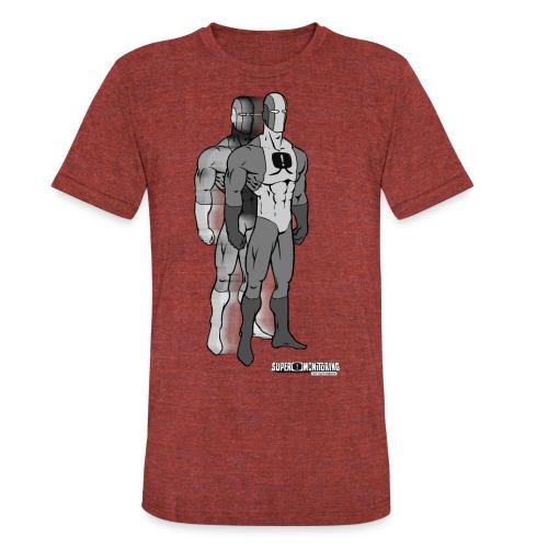Superhero 9 - Unisex Tri-Blend T-Shirt