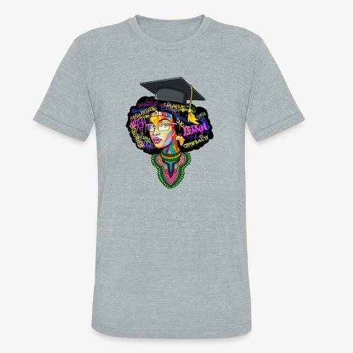 Smart Black Woman - Unisex Tri-Blend T-Shirt