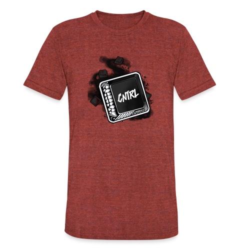 New CNTRL Logo - Unisex Tri-Blend T-Shirt