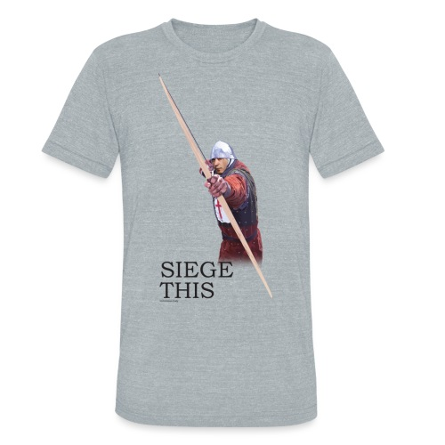 Siege This Mens standard T - Unisex Tri-Blend T-Shirt
