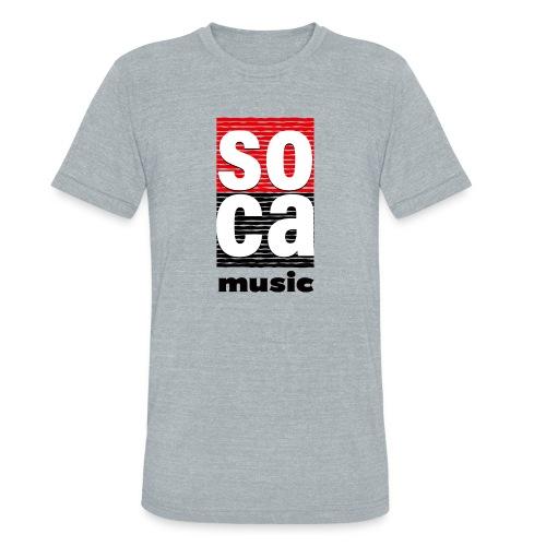 Soca music - Unisex Tri-Blend T-Shirt