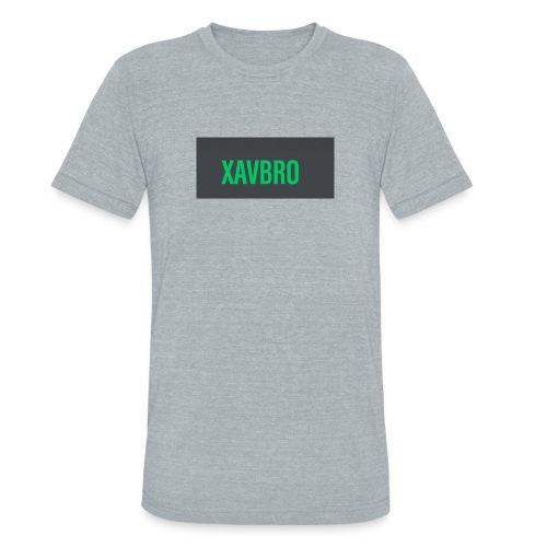 xavbro green logo - Unisex Tri-Blend T-Shirt