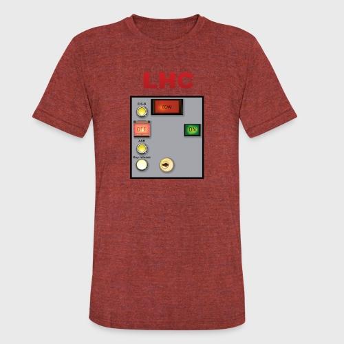 LHC Large Hadron Collider - Unisex Tri-Blend T-Shirt