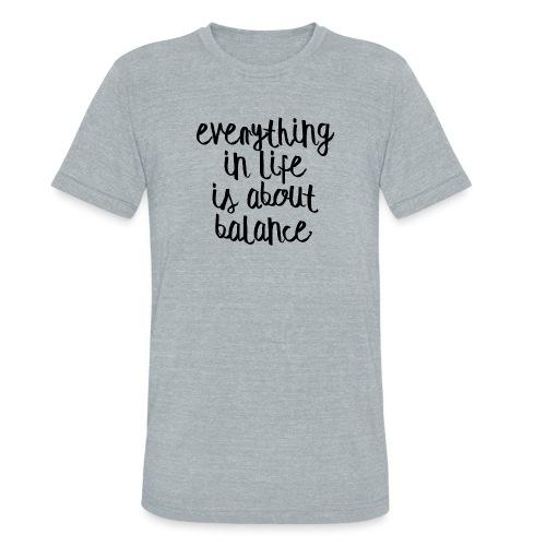 Balance - Unisex Tri-Blend T-Shirt
