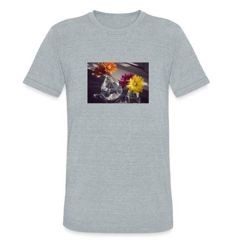 sweet morning flowers - Unisex Tri-Blend T-Shirt