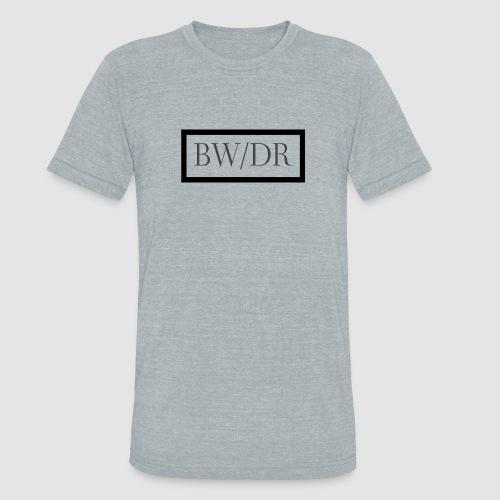 BWDR Logo - Dark - Unisex Tri-Blend T-Shirt