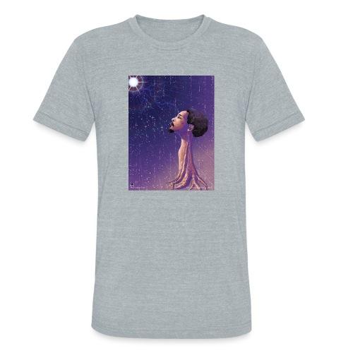 Enlightening myself - Unisex Tri-Blend T-Shirt