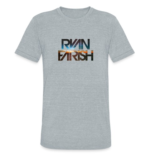 Ryan Farsh text logo - Unisex Tri-Blend T-Shirt