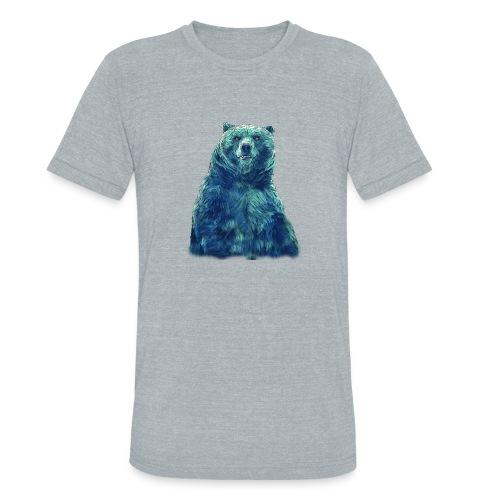 blu bear - Unisex Tri-Blend T-Shirt
