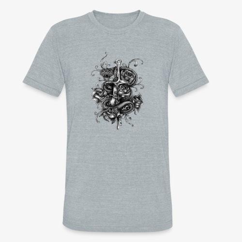 Dagger And Snake - Unisex Tri-Blend T-Shirt
