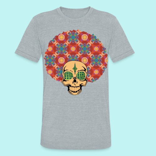 MACK DADDY SKULLY - Unisex Tri-Blend T-Shirt