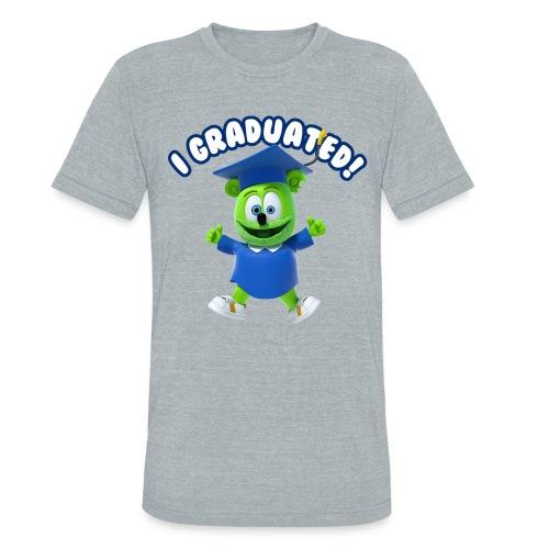 I Graduated! Gummibar (The Gummy Bear) - Unisex Tri-Blend T-Shirt