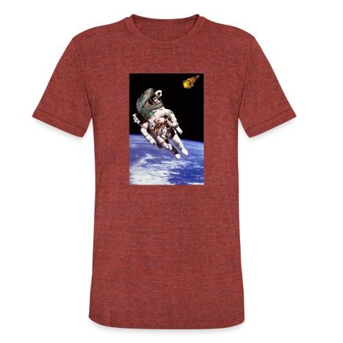 how dinos died - Unisex Tri-Blend T-Shirt
