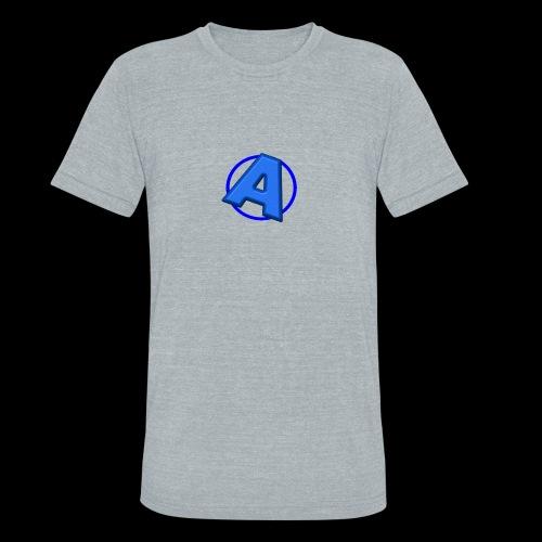 Awesomegamer Logo - Unisex Tri-Blend T-Shirt