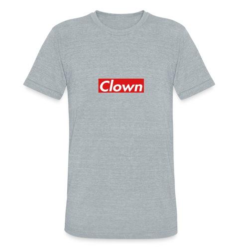 halifax clown sup - Unisex Tri-Blend T-Shirt