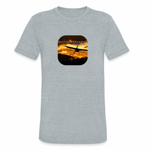 "InovativObsesion ""TAKE FLIGHT"" apparel - Unisex Tri-Blend T-Shirt"