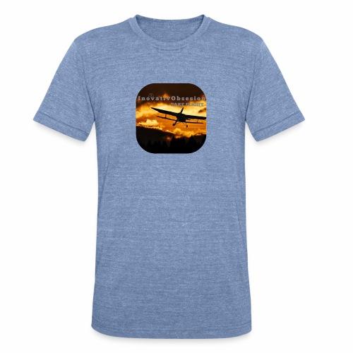 "InovativObsesion ""TAKE FLIGHT"" apparel - Unisex Tri-Blend T-Shirt"