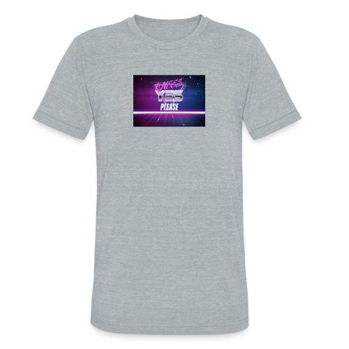 YESH Pweash - Unisex Tri-Blend T-Shirt