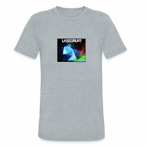 LASERIUM Laser spiral - Unisex Tri-Blend T-Shirt