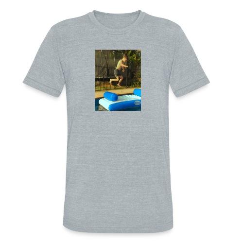 jump clothing - Unisex Tri-Blend T-Shirt