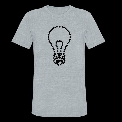 lightbulb by bmx3r - Unisex Tri-Blend T-Shirt