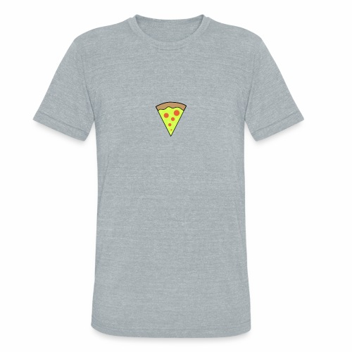 Pizza icon - Unisex Tri-Blend T-Shirt