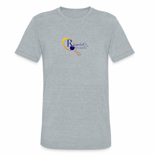 Racquetball Ontario branded products - Unisex Tri-Blend T-Shirt