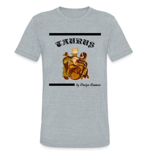 TAURUS BLACK - Unisex Tri-Blend T-Shirt
