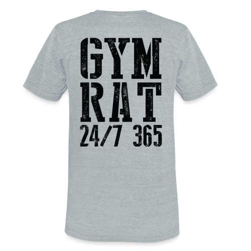 Gym Rat - Unisex Tri-Blend T-Shirt