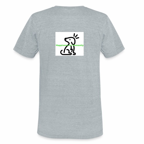 Happiness for Humanity - Unisex Tri-Blend T-Shirt