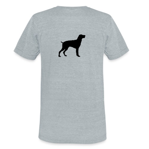 German Wirehaired Pointer - Unisex Tri-Blend T-Shirt