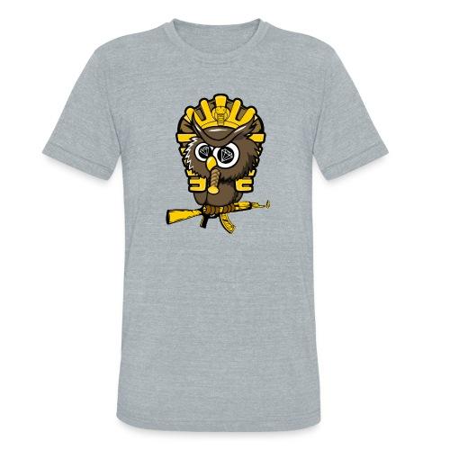 king otrg owl - Unisex Tri-Blend T-Shirt
