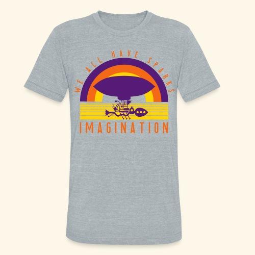 We All Have Sparks - Unisex Tri-Blend T-Shirt