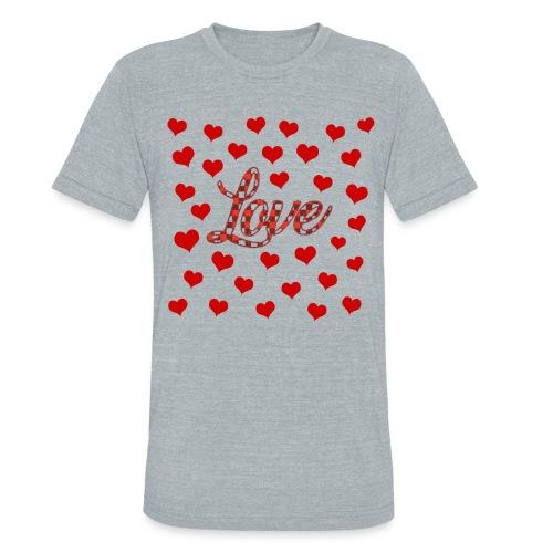 VALENTINES DAY GRAPHIC 3 - Unisex Tri-Blend T-Shirt