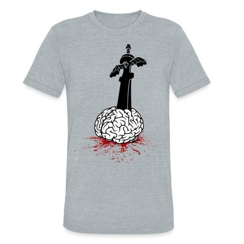 Sword in Brain - Unisex Tri-Blend T-Shirt