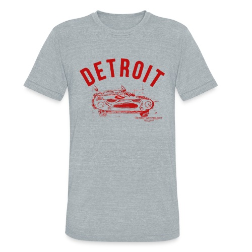 Detroit Art Project - Unisex Tri-Blend T-Shirt