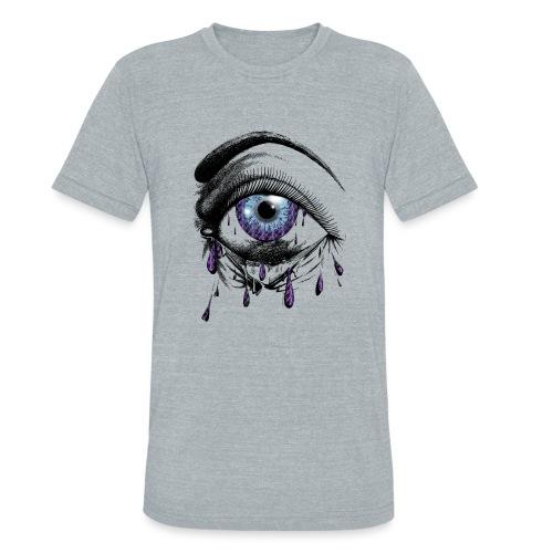 Lightning Tears - Unisex Tri-Blend T-Shirt